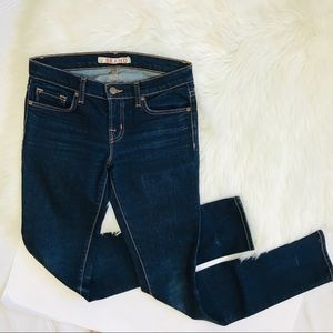 J Brand Skinny Pencil Leg Dark Wash Jeans Sz 26